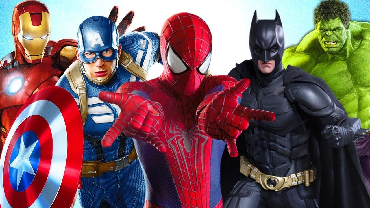 Супергерои все фотографии