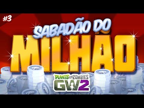 EM BUSCA DOS LENDÁRIOS - [ Domingão ] Sabadão do Milhão #03 | Plants vs Zombies Garden Warfare 2