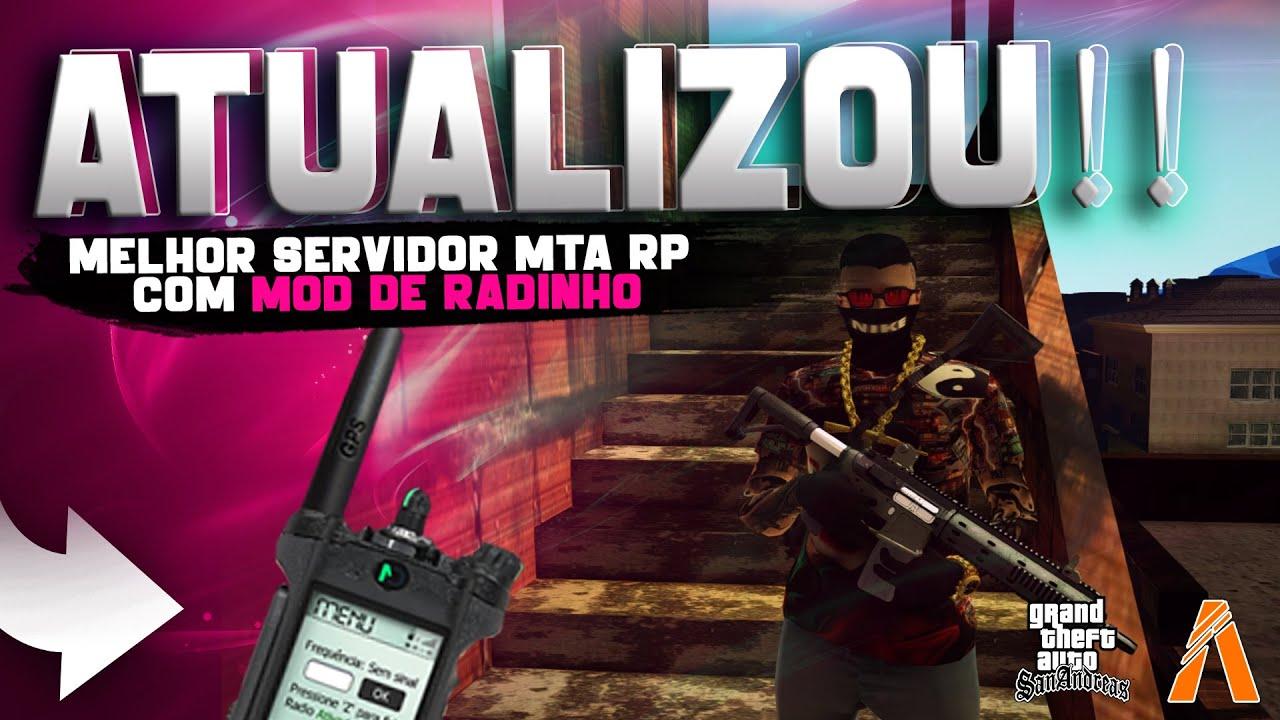 ATUALIZOU!! CIDADE DE DEUS 2.0 MELHOR SERVIDOR MTA RP PC FRACO (COM RADINHO!!!)