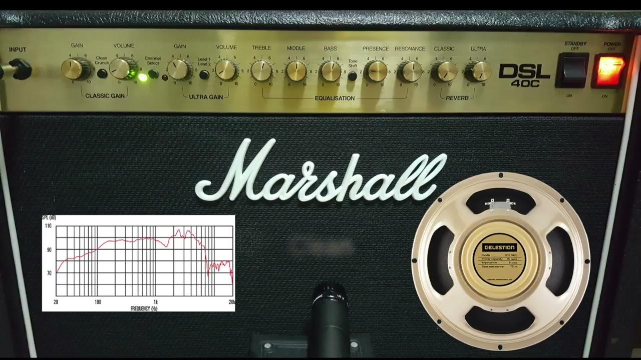 Marshall DSL40C - Speaker Upgrade Celestion Neo Creamback  Valve Upgrade  Mullard