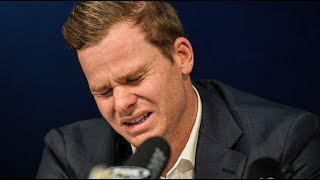 In full Tearful Steve Smith apologises for ball-tampering scandal  ITV News