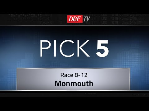 Saturday Monmouth Park Pick 5 - Races 8-12 - May 26th, 2018