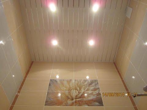 0 - Стеля у ванній кімнаті — який вибрати?