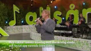 Magnus Uggla och Rolandz 'Kung för en dag' Allsång på Skansen 2009