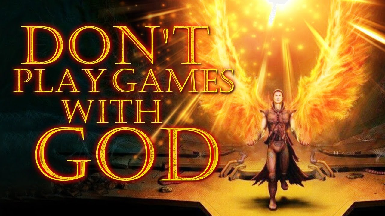 Don't Play Games With God - God Will Not Be Mocked | You Will Reap What You Sow
