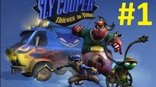Sly Cooper Thieves in Time Türkçe Dublaj - 1. Bölüm HD