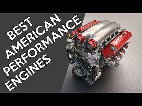 8 Of The Best American Performance Engines