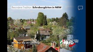 Über das Kleingartenwesen in NRW