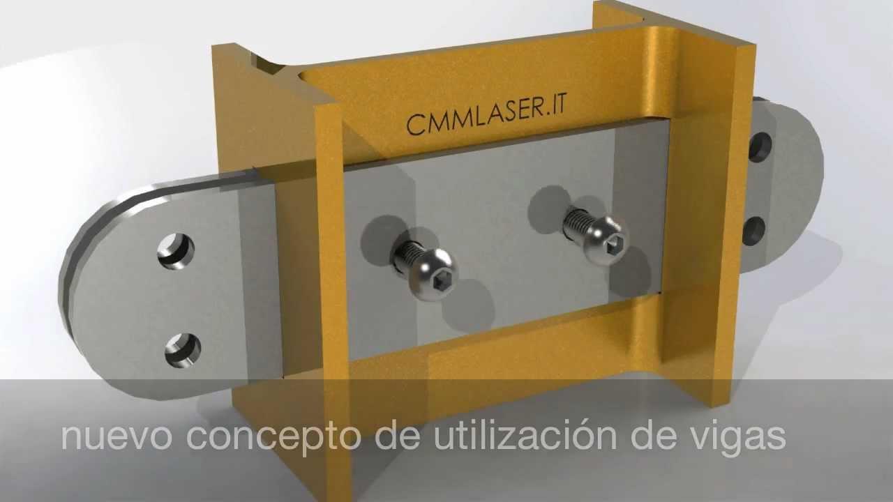 Innovadora solución para estructura con vigas de acero - YouTube