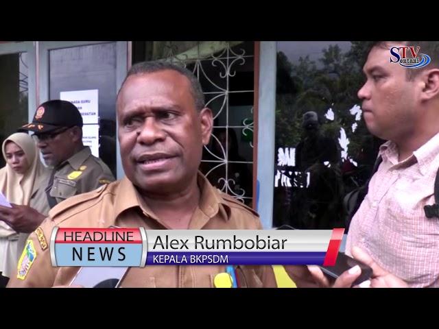 50 Persen Pelamar CPNS di Kabupaten Jayapura Tidak Lulus | Sentani Tv