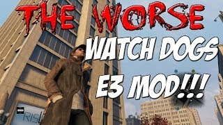 Watch Dogs E3 Graphics Mod For PC | TheWorse