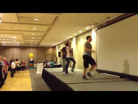 Cliche Love Song Line Dance With Jo Calling Out Steps | 2015 Windy City Line Dance Mania Chicago