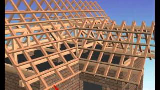 як зробити т образну дах одноповерхового будинку своїми руками