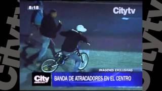 Banda de atracadores en el Centro | CityTv | City Noticias 8 | Enero 7