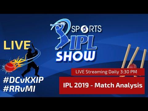 #IPL2019 Match Day 29 | Royals vs Indians | Capitals vs Kings XI  |  | #RRvMI , #DCvKXIP | IPL Show