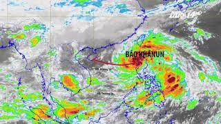 VTC14 | Bão số 11 - bão Khanun sẽ ảnh hưởng từ Quảng Ninh đến Đà Nẵng