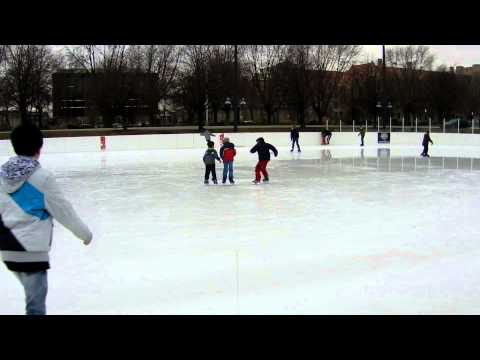 Midway Plaisance ice rink Jan 12 2013