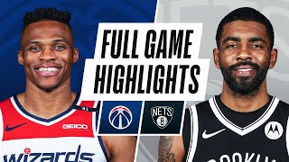 WIZARDS at NETS | FULL GAME HIGHLIGHTS | March 21, 2021