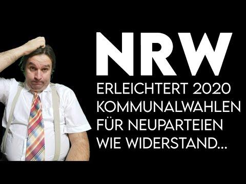 NRW erleichtert Kommunalwahlen fuer Neuparteien (Widerstand2020 u. a.)