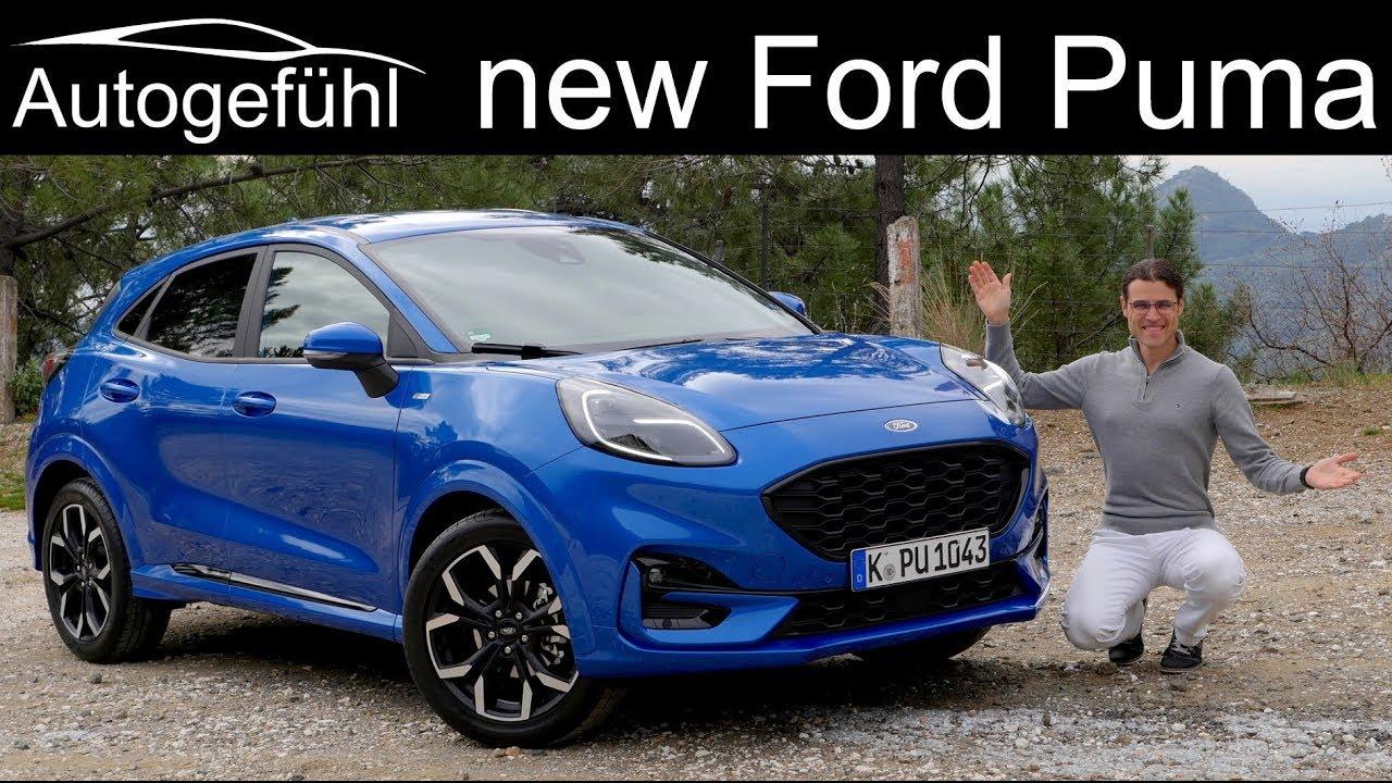 All New Ford Puma Full Review Titanium X Vs St Line X Comparison