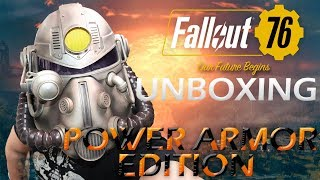 FALLOUT 76 POWER ARMOR EDITION | Unboxing |