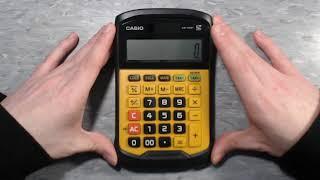 Calculator Video Review: Casio WM-320MT