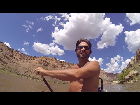 Canoeing the Yampa River (S. Beach to Duffy Mtn.)