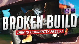 Doublelift- THIS JHIN BUILD IS BROKEN