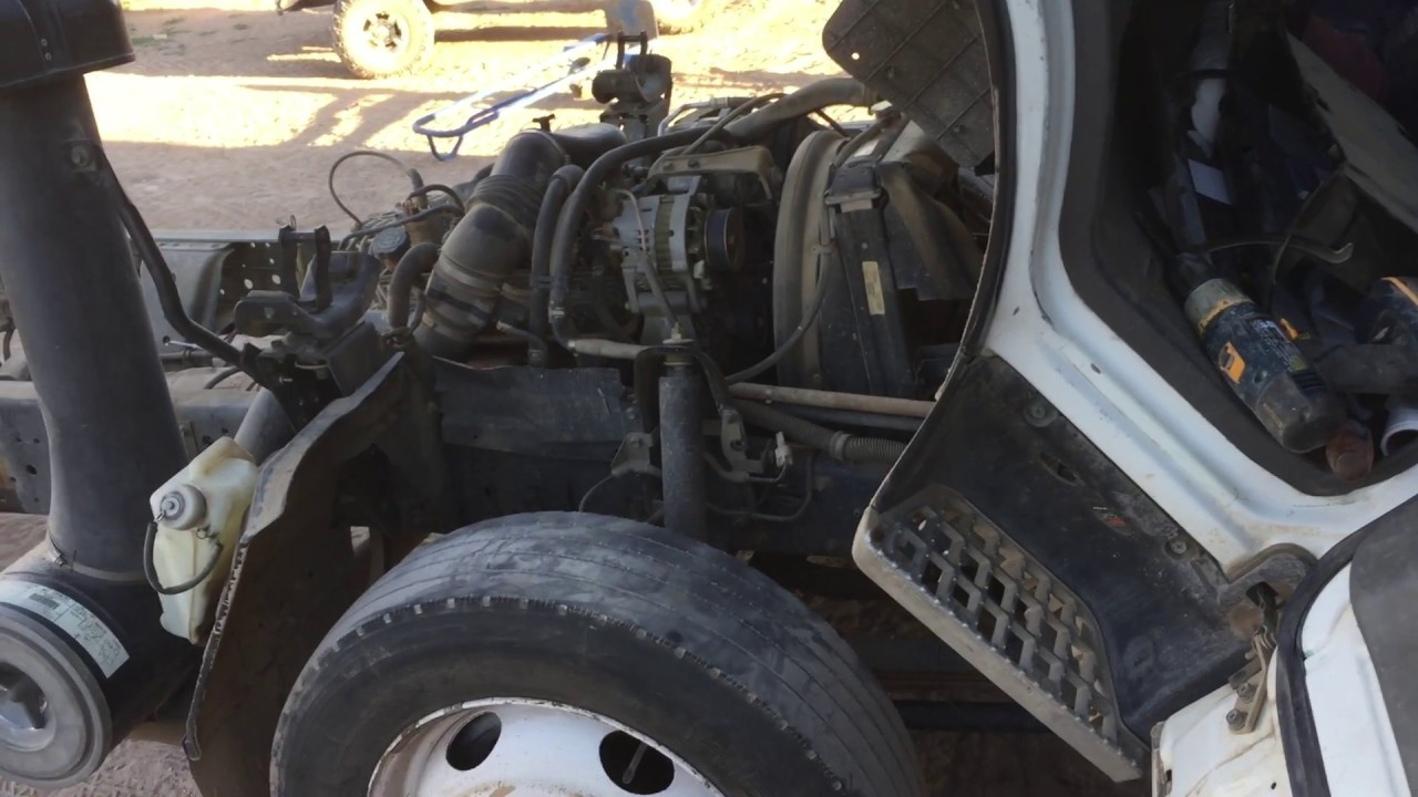 2000 isuzu npr no start, transmission shifting issues  YouTube