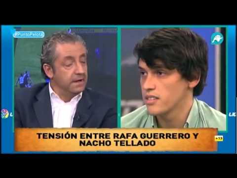 El arquitecto Ignacio Tellado agrede verbalmente a Rafa Guerrero y este se marcha del plató