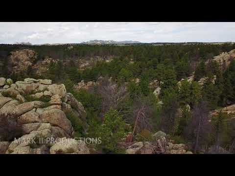 Wyoming Drone Footage