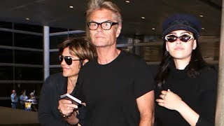 Harry Hamlin With Lisa And Delilah, Welcomed Back To LA