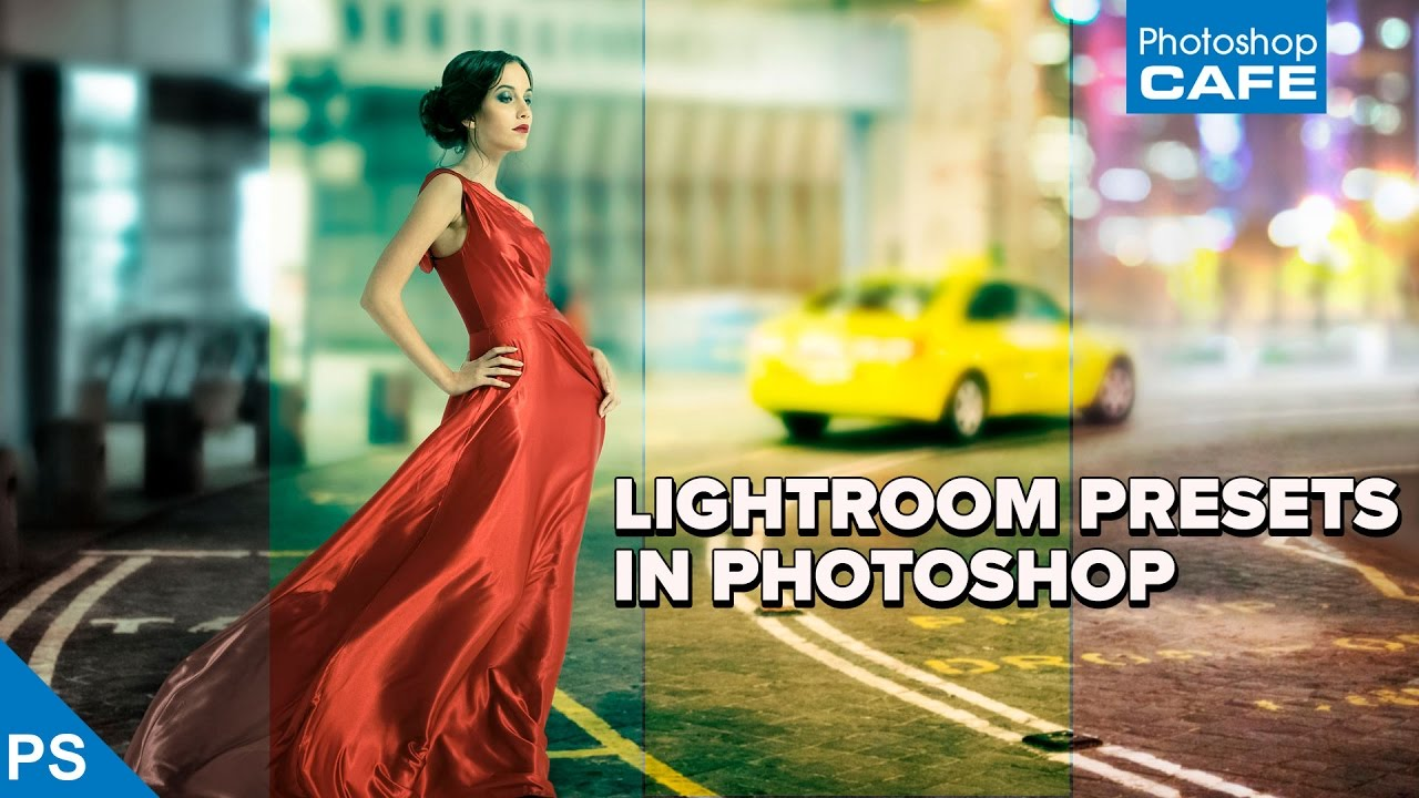 How to use LIGHTROOM PRESETS in PHOTOSHOP - YouTube