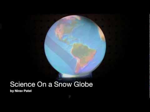Science On a Snow Globe Spherical Display