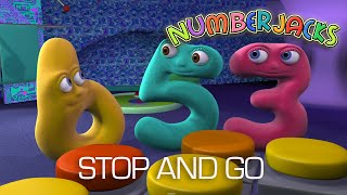NUMBERJACKS | Stop And Go | S1E16