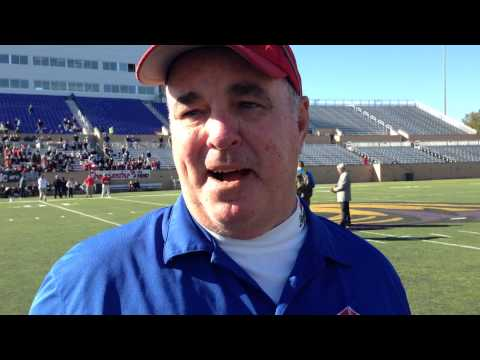 Don Shelley after Holly Hill Academy's 26-21 win in the SCISA Class A State Championship