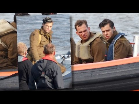 SPOTTED! Harry Styles On 'Dunkirk' Movie Set! | Hollywire