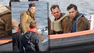 SPOTTED! Harry Styles On 'Dunkirk' Movie Set!