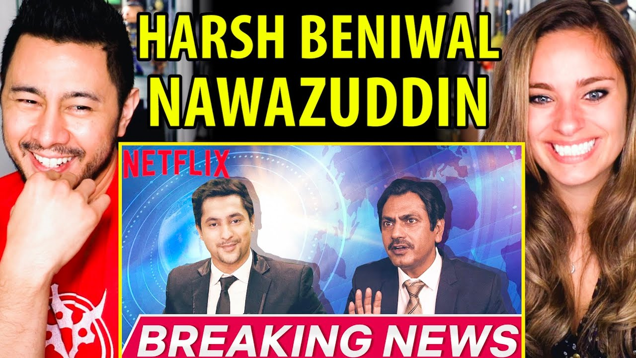 Harsh Beniwal | Nawazuddin Siddiqui Breaking News | Child Genius? | Reaction by Jaby & Kristen!