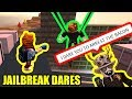 asimo3089 DARES KREEK to ARREST ME | Roblox Jailbreak Dares