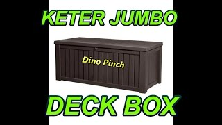 How To Plastic Outdoor Deck Box Assembly Video