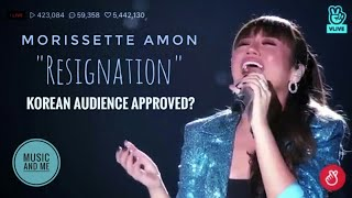 """Morissette Amon   Asia's Song Festival 2018   """"Resignation"""" (Korean Song)"""