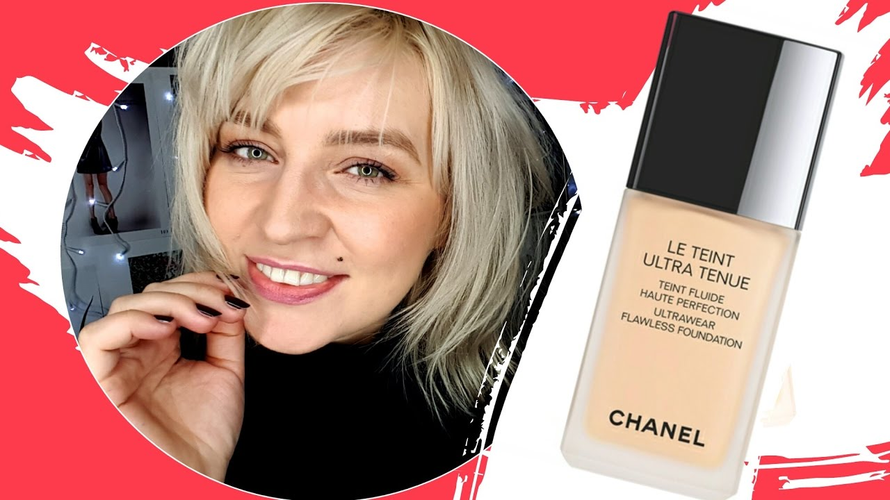 d9d28da73c New foundation CHANEL LE TEINT ULTRA TENUE 30 Beige ❤ live test and review  ThePinkRook