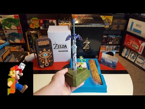 Master Edition Of Zelda: Breath Of The Wild Unboxing