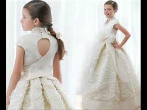Vestido primera comunion sencillo mexico