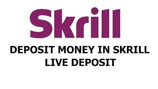 How to Deposit Money in Skrill From Pakistan in Hindi/Urdu 2017-2018 - Live Deposit