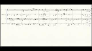 """""""Hogwarts Forever!"""" Horn Quartet Sheet Music"""