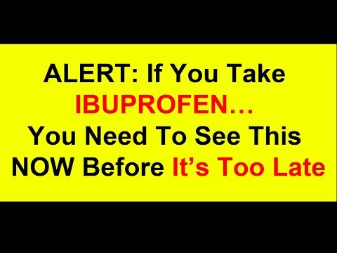 Ibuprofen Linked To Infertility In Men from YouTube · Duration:  3 minutes 8 seconds