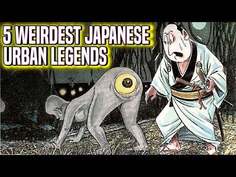5 WEIRDEST Japanese Urban Legends