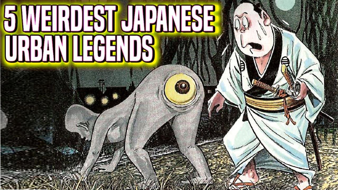 Weirdest Japanese Urban Legends